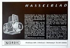 Hasselblad .500 C original Werbung aus 1967