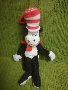 DR-SEUSS-THE-CAT-IN-THE-HAT-12-034-OFFICIAL-MOVIE-PLUSH-SOFT-TOY-2003-VG