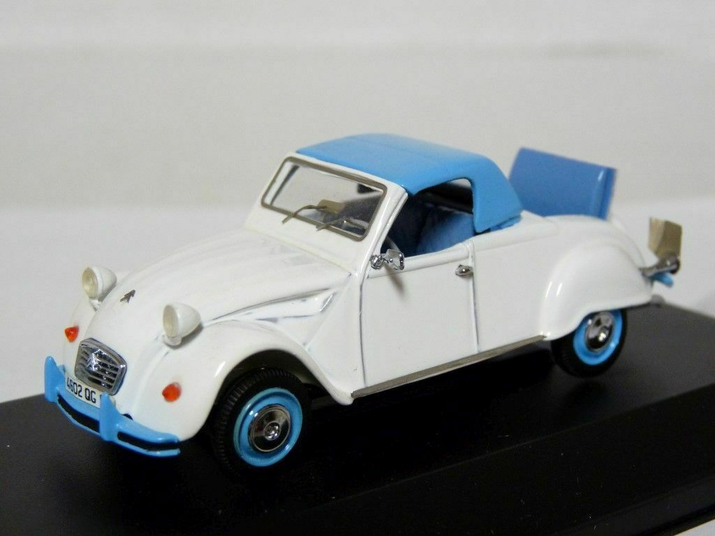 Original Miniatures 065 1 43 Citroen 2CV Deslandes Resin Handmade Model Kit Car