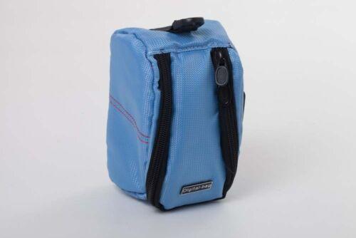 Cámara de azul claro 13cm x 8cm x 6cm para Sony hdr-cx240e hdr-cx280