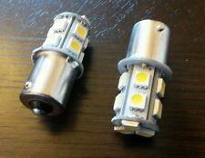 2 x P21W 382 1156 BA15s 5050 LED 13 SMD Fog Reverse Rear Car Bulbs Warm White