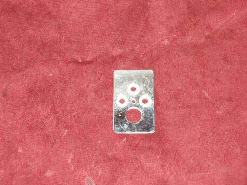 Enjoliveur prise deux pôles+T en inox isolant bakélite modèle Amboise Legrand