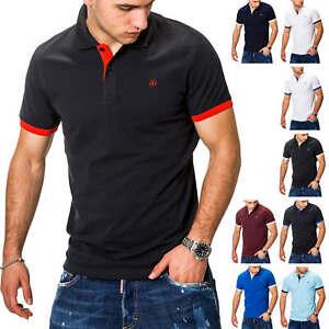 Jack-amp-Jones-senores-camiseta-polo-polo-camisa-manga-corta-Camisa-Caballero-camisa-camiseta-T