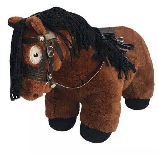 1 astuto Pony giocattolo morbido Edizione Limitata il Pony Club Pony Marroneee Con Tack Set