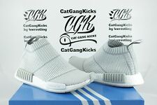 Adidas nmd cs1 città sock pk grigio bianco grigio nomade primeknit s32191