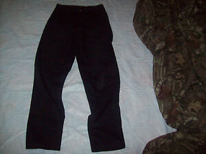 mens jeans size 32 x 34 timber creek by wrangler plain front flat ...