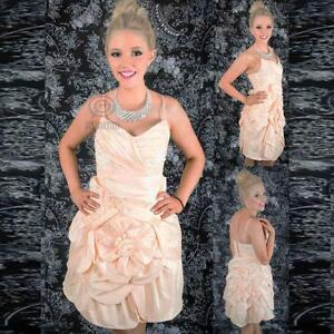 Tiered-Bubble-Gown-Ruffle-Flower-Sweetheart-Neckline-Formal-Party-Prom-Dress