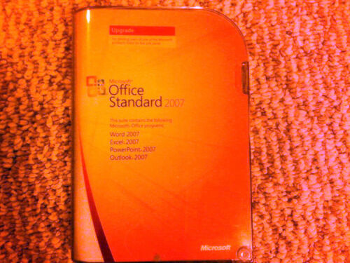 Microsoft Office Standard 2007 SKU 021-07668 Retail Version Upgrade