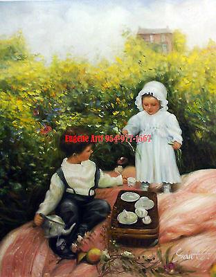"100/% hand painted oil flat 51x61cm Fat Men Botero Fat Women 20x24/"""