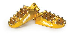 Honda-CRF250-X-CRF250X-2006-2007-2008-2009-Wide-Gold-Footpegs-Foot-Pegs-F01-G