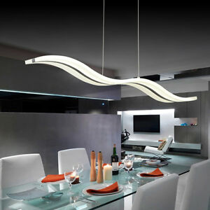 Acrylic-Crystal-LED-Wave-Chandelier-Living-Room-Remote-Control-Lamp-Pendant-Ligh