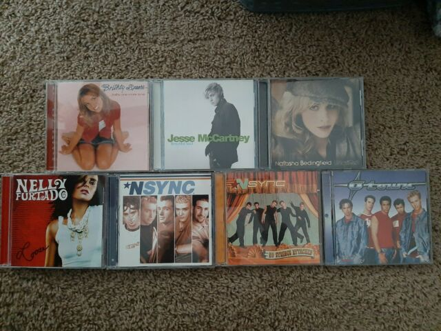 CD Lot - 7 Pop Music CDs From The Late 90s - Early 00s, Used, Good Condition