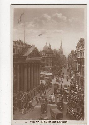 The Mansion House London 1926 RP Postcard  291a