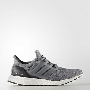 Details about adidas Mens Ultra Boost 3.0 Mystery Grey Running Shoes BA8849 UltraBoost