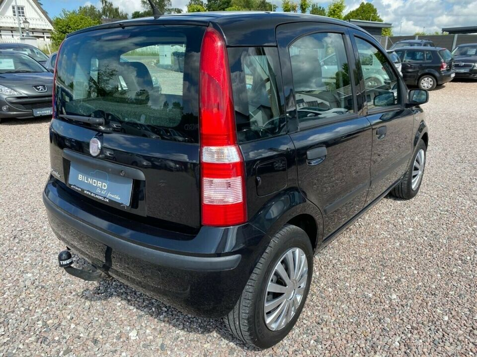 Fiat Panda 1,2 Ciao Benzin modelår 2007 km 243000 Sortmetal