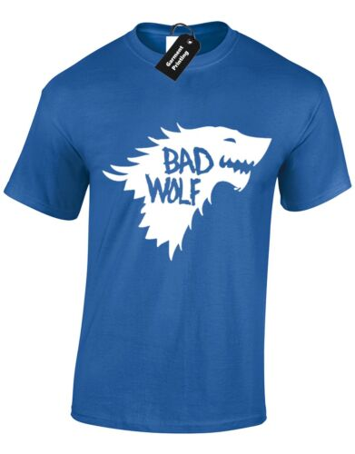 BAD WOLF MENS T SHIRT GAME OF JON SNOW TYRION THRONES INSIRED DEADPOOL FUNNY