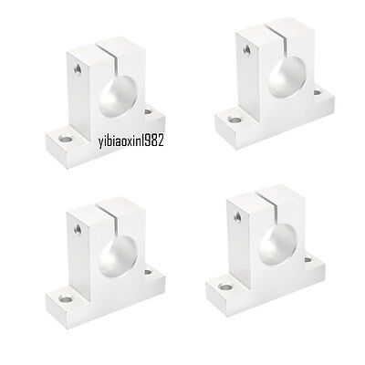 2x SK12 Aluminum SK12 12mm Shaft Support Block Linear Motion
