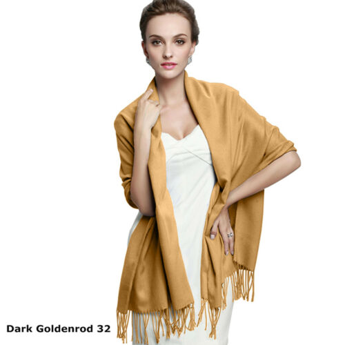 Top Quality Hot Sale Ladies Womens Pashmina Solid Long Scarf Soft Shawl Hijab
