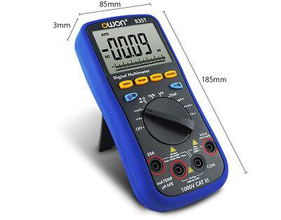 Digital Multimeter Bluetooth Voltmeter Ammeter  F iOS//Android IDM OWON B35T