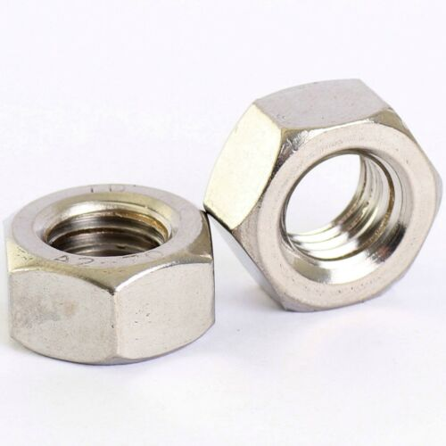 M5 STAINLESS HEX FULL NUTS  QTY 100 PACK