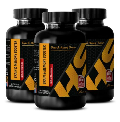 brain boost BRAIN & MEMORY BOOSTER COMPLEX energy s 3 Bottles