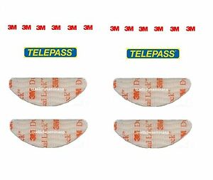 ADESIVI-PER-TELEPASS-4PEZZI-3M-DUAL-LOCK-SISTEMA-DI-ANCORAGGIO-ORIGINALE-SJ3560