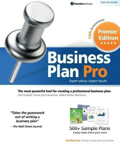 #1 Business Plan Software Solution