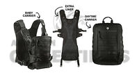 Mission Critical Front Baby Carrier + Daypack Carrier + Ext. Liner Bundle Black
