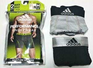 adidas 3 Pack Performance Boxer Shorts Mens | SportsDirect