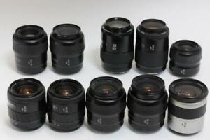 Minolta-AF-Zoom-10-lens-set-lots-of-ten-almost-Near-mint-from-Japan