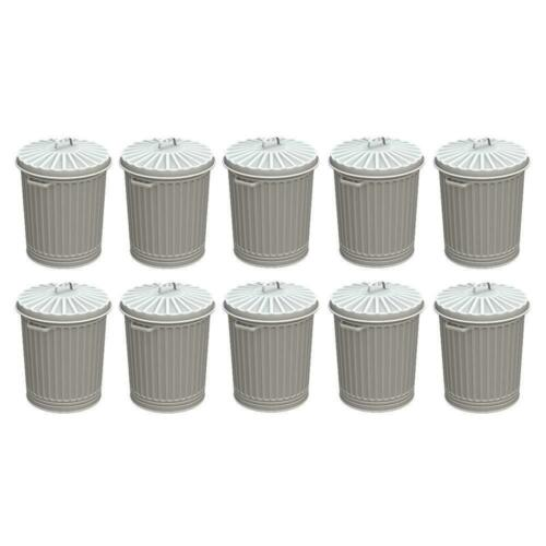 Bachmann 44-522 OO Gauge Old Style Domestic Dustbins Pack 10
