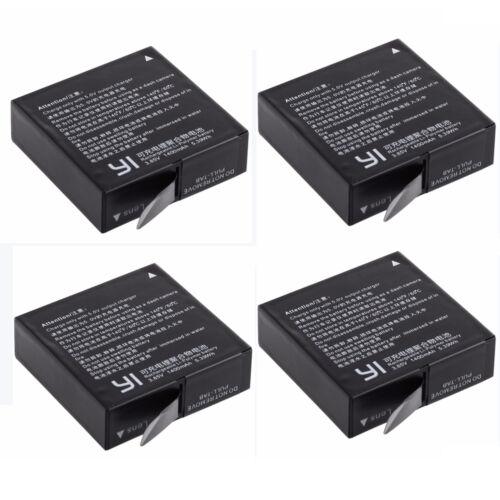 Cargador Usb Doble Para Xiaomi Yi 2 Cámara 4K Xiaoyi II Original Batería 1400mAh