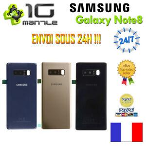 Vitre-Arriere-Cache-Capot-Batterie-Adhesif-SAMSUNG-GALAXY-NOTE-8-N950
