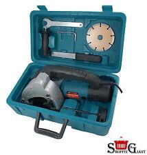 Professional 1500W 240v Elettrica Parete Chaser SEGA + GRATIS accessori 8500rpm