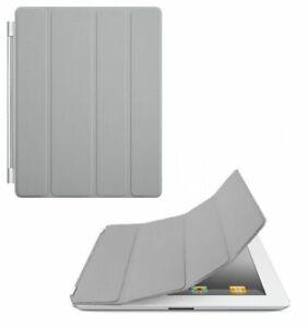 Apple-iPad-2-3-4-ecran-Retina-Ultra-mince-magnetique-Smart-Cover-Gray
