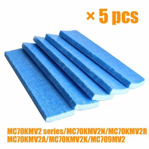 5Pcs Plissé Filtres Maille pour Daikin Purificateur Air KAC017A4 KAC017A4E