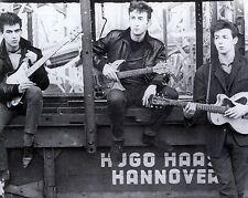 "The Beatles Hamburg 10"" x 8"" Photograph no 4"