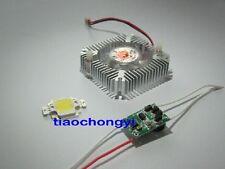 1pcs 10W Cool White  High Power LED + 10Watt Driver  +  10w Heatsink