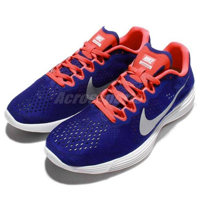 124a5ac04f Nike Lunaracer Lunaracer Lunaracer 4 IV Blue Crimson Men Running Shoes  Size  7.5 844562-