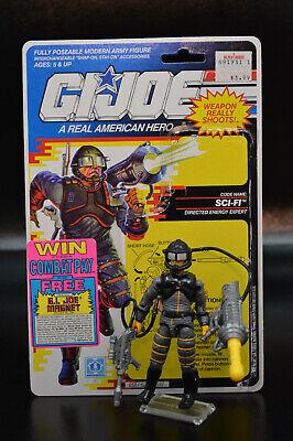 G.I Joe version 1 1986 Sci Fi 100/% COMPLETE ARAH