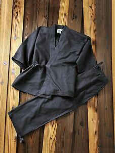 SAMUE-Japanese-Kimono-100-of-cotton-of-the-large-activity-as-room-wear-Size-LL