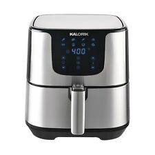 Kalorik 5.3 Quart Air Fryer Pro XL, Stainless Steel