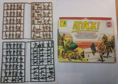 Attack A-toys Confezione 100 Soldatini Paracadutisti Inglesi Fanteria Tedesca Sconto Del 50