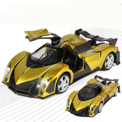 Lamborghini 132 alloy models toys back acousto,optic super run Raptor 16