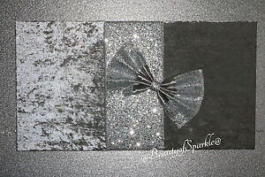 Glitter Wall Art luxury crushed velvet with silver glitter wall art,picture. unique