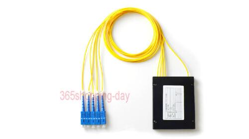 SC//UPC 1*4 PLC Fiber Optical Splitter SC//FC//ST//LC Connector PLC Splitter