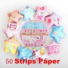 P4PM Folding Kit Lucky Star Origami Wish Star Origami Paper 50 Strips Paper