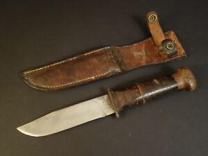 USN-ROBESON-ShureEdge-20-Combat-Knife-Usn-Leather-Scabbard