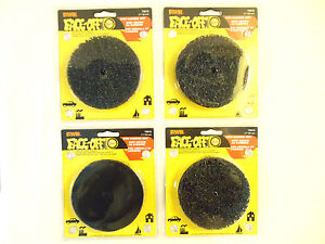 "Irwin Face-Off 4"", Hook and Loop Backing, Paint & Rust Removal, 4 pcs, NEW."