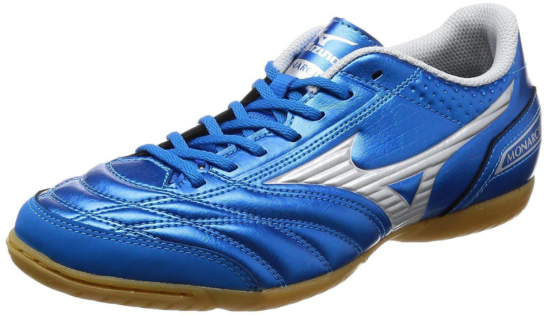 Zapatos DE FUTSAL FÚTBOL Mizuno monarcida FS Sala Ancho Q1GA1712 Azul US9.5 (27.5 Cm)